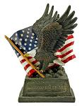 Pride & Honor - American Eagle Statue