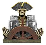 Spice Trader Raider - Pirate Salt and Pepper Holder