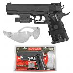 Tanfoglio Witness 1911 CO2 Powered BB Pistol Starter Kit