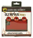 Olympian Stun Gun, Pepper Spray, and Flashlight - Red