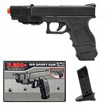P.698 Spring Powered Airsoft Handgun with Extra Clip
