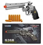 UKArms G36B Six Shooter Revolver Spring Powered Airsoft Pistol