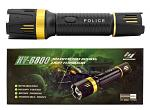 The Defenders Series Police Grade Stun Gun Flashlight - Black