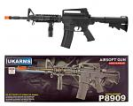 UK Arms P8909 M4 Spring Powered Airsoft Assault Rifle with Flashlight and Laser