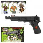 Marksman Zombie Splat .177 Cal. Multi-Ammo Handgun with Targets - Spring Powered