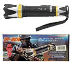 The SWAT Series Police Grade Stun Gun Flashlight - Black and Gold