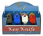 12 - pc. Key Style Pocket Knife Display Set