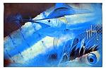 Guy Harvey Marlin Welcome Door Mat