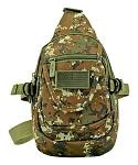 Military Sling Bag - Green Digital Camo