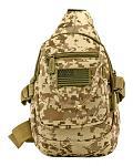 Military Sling Bag - Desert Digital Camo