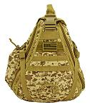 Military Sling Backback - Desert Digital Camo