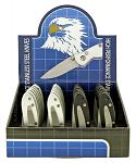 24 - pc. Switchblade Knife Display Set