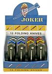 12 - pc. Joker Knife Display Set