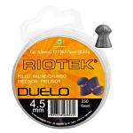 250 ct. Riotek .177 Cal. Duelo Precision Ammo Pellets