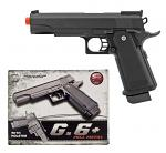 Galaxy G6 Metal Replica Spring Powered Airsoft Pistol with Holster