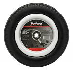 Universal Flat Free Hand Truck Tire with Spacers and Extra Bearings - True Power