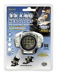 12 LED Headlamp Light with Adjustable Headstrap