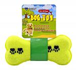 Fetch and Tug Tennis Ball Stick Dog Bone Toy for Large and Small Dogs - Diamond Visions