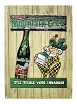 Vintage Mountain Dew Advertising Tin Metal Sign