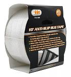 "10' Anti-Slip Rubber Rug Tape for Hard Flooring Surfaces - 2.5"""