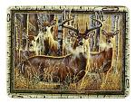 Rivers Edge Deer Glass Cutting Board