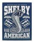 Shelby American Racing Performance Parts - Mustang Garage Metal Tin Sign