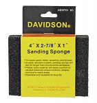 "60 Grit 4"" x 2.88"" x 1"" Sanding Sponge - Davidson"