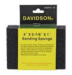 "80 Grit 4"" x 2.88"" x 1"" Sanding Sponge - Davidson"