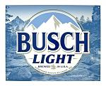 Busch Light Beer Bar Metal Tin Sign