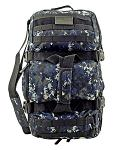 Tactical Journeyman Large Duffle Bag Backpack - Blue Digital Camo