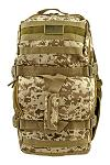 Tactical Journeyman Large Duffle Bag Backpack - Desert Tan Digital Camo