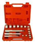 Cal-Hawk 17-pc. Aluminum R-Type Bearing Race, Seal, and Bushing Driver Tool Set