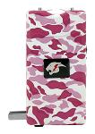 The Cyclone Stun Gun with LED Flashlight - Pink Camo