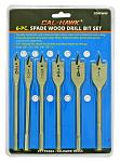 6-pc. Spade Wood Drill Bit Set