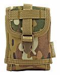 Space Force Tactical MOLLE Cell Phone Tech Pouch Carrier Vest Attachment - Woodland Multicam