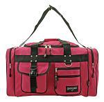 Large Gym Duffle Bag - Hot Pink
