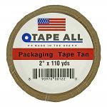 "2"" x 110yds. Packaging Tape - Tan"
