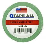 "1"" x 60yds. Green Painters Tape"