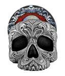 Deathly Delights - Gothic Skull Cup Coaster Holder Set - DWK