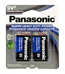 2-pc. 9V Super Heavy Duty Batteries