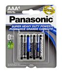 4-pc. AAA Super Heavy Duty Batteries