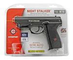 Crosman Night Stalker PFM520 .177 Cal. CO2 Semi Auto Blowback BB Air Pistol