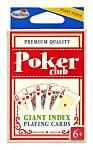 Poker Club Giant Index Playing Cards