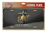 Officially Licensed U.S. Marines License Plate - USMC