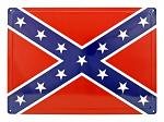 Confederate Flag Metal Sign