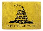 Don't Tread On Me Gadsden Metal Sign
