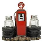 Kicks Filling Station - Route 66 Salt and Pepper Shaker Holder