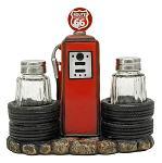 Kicks Filling Station - Route 66 Salt and Pepper Shaker Holder