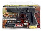 Firepower .45 High Powered Spring Pistol Airsoft Gun - Black