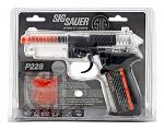 SIG Sauer P228 Spring Assisted Airsoft Pistol - Clear